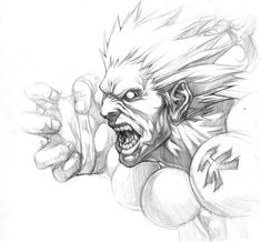 AKUMA sketch by ~chrisnfy85 on deviantART