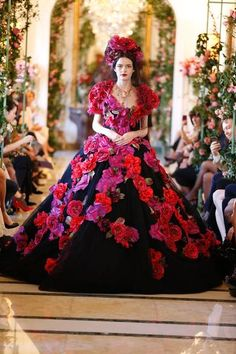 Dolce & Gabbana Alta Moda spring/summer 2014: Inside the floral home of elite couture - Telegraph