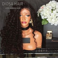 Items similar to Real Human Hair Curly Hair Wigs Bleached Knots Wigs Glueless Full Lace Wigs Best Lace Real Hair Wigs For Black Women from Babeswig on Etsy Real Hair Wigs, Human Hair Lace Wigs, Silk Base Wig, Curly Full Lace Wig, Deep Curly, Kinky Curly Wigs, Straight Lace Front Wigs, Ombre Wigs, Bleached Hair