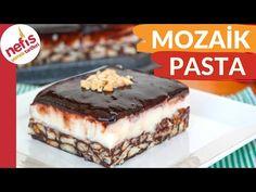 Kısa zaman harcayarak, 10 dakikada soslu mozaik pastayı sizlerde hazırlayabilirsiniz. Kolaylığı ile bilinen mozaik pastayı birde böyle muhallebili