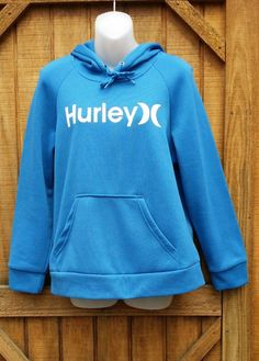 Men's Hurley Hoodie Blue Pull Over XXL Longsleeve  | Clothing, Shoes & Accessories, Men's Clothing, Sweats & Hoodies | eBay!