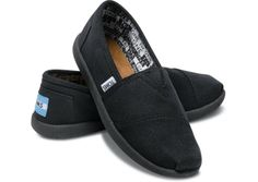 I want these TOMS so I can give them customized blinged out zebra stripes!  Making my TOMS mine!