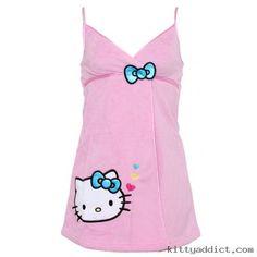 Hello Kitty Sweet Kitty Pink Spa Wrap