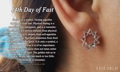 14th Day of Fast #bahai #9starjewelry