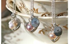 Lustre Cluster Necklace £65 | A beautiful, unique bridesmaid gift to treasure forever after your wedding day | www.joulberry.com