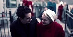 """""""The Handmaid's Tale"""" - Nick & June Series Movies, Movies And Tv Shows, Tv Series, A Handmaids Tale, The Handmaid's Tale Book, Handmade Tale, Tv Show Couples, Netflix, Tv Show Quotes"""