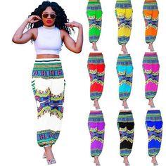 Indian Harem Gypsy Hippie Ali Baba Baggy Pants Women Trousers Boho Yoga Casual #Unbranded #DressPants