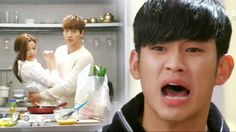 Jealoused Do Min Joon | Man From The Stars drama ep.15...hahaha, he was so adorable in his jealous fit!