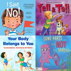 Tough Conversations: Books to Help Children Understand Good Touch vs. Bad Touch - www.lilsugar.com