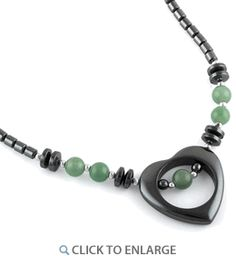 Circumference is approx Non adjustable, Material: Hematite Hematite helps to absorb negative energy and calms in times of stress or worry. Hematite is a very protective stone and is great to carry to help you stay grounded in many… Jade Jewelry, Sterling Jewelry, Emerald Jewelry, Tiffany Jewelry, Sterling Silver Necklaces, Diamond Jewelry, Women Jewelry, Stone Necklace, Beaded Necklace