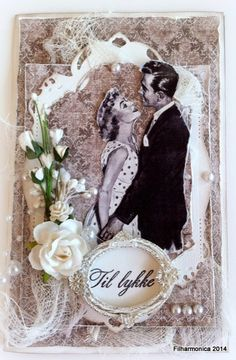Live & Love Crafts' Inspiration and Challenge Blog: The magic of love - using MAJA Vintage Summer and Prima flowers