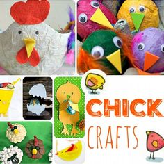 21+ Easter Chick Crafts for Kids