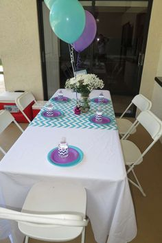 Mermaid /Under the Sea Birthday Party Ideas | Photo 13 of 23 | Catch My Party