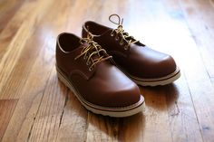 Red Wing for J.Crew plain-toe oxfords