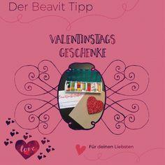 Valentinstagsgeschenke DIY. Schnell gemacht von Herzen. Blog, Second Love, Tips And Tricks, Homemade, Blogging