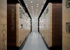 Sleepbox Hotel Tverskaya In Moscow, Russia