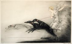 Louis Icart (French, 1880 - 1950) - Speed