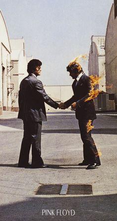 Pink Floyd - Wish You Were Here - Musik Music - Poster Druck - Größe cm Progressive Rock, Rock Posters, Band Posters, Discos Pink Floyd, Star Wars Stormtrooper, Arte Pink Floyd, Pink Floyd Album Covers, Xxl Poster, Pink Floyd Poster
