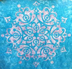 Reverse applique pattern by Eye of the Beholder