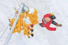 Photographer MITCHELL FUNK  Ny Snow 2  ONE EYELAND