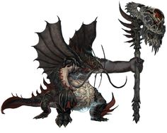 Aquatic Monster from Blade & Soul