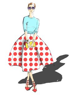 Fashion_illustrator_Melbourne_spots| Be Inspirational❥|Mz. Manerz: Being well dressed is a beautiful form of confidence, happiness & politeness