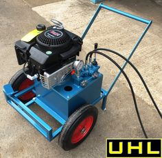 Hydraulic System, Small Tractors, Hydraulic Cylinder, Power Unit, Engine Repair, Metal Tools, Mechanical Design, Tool Organization, Outdoor Power Equipment