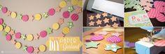 8 creatives garlandes per decorar una festa o l'habitació / tot nens