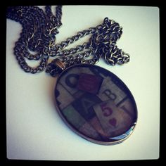 Handcrafted Resin Necklace by MayouleeAccessories on Etsy, $19.99