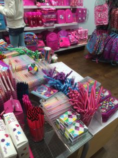 Smiggle - Stratford - Stationery - Gift Stationery - Colourful - Landscape - Fixtures - Tables - Layout - Visual Merchandising - www.clearretailgroup.eu