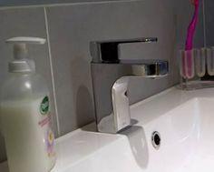 VADO Life mono basin mixer - as shown on BBC's Britain at the Bookies! British Bathroom, Bathroom Taps, Basin Mixer, Britain, Sink, Shower, Home Decor, Sink Tops, Rain Shower Heads