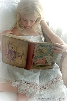 Reading  -  a quiet delight.     Never too old to read the nursey rhymes.  They are old friends.   Make new friends, but keep the old...
