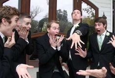 Pic of guys swooning over the wedding band :)