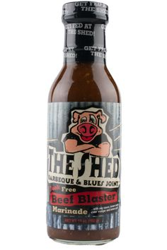 The Shed BBQ Store - The Shed BBQ Beef Blaster Marinade, $4.39 (http://store.theshedbbq.com/the-shed-bbq-beef-blaster-marinade/)