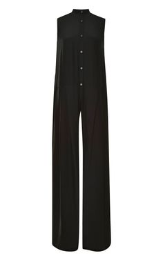 Shop Wide-Leg Silk Jumpsuit by Tome Now Available on Moda Operandi