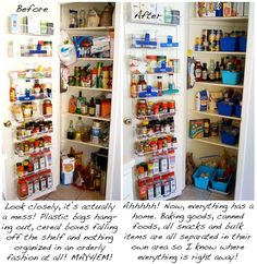 How to clean and organize your pantry!