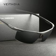 4f91ef4da VEITHDIA Aluminum Magnesium Men's Sunglasses Polarized Coating Mirror Sun  Glasses oculos Male Eyewear Accessories For Men