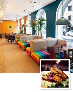 Olipa kerran ravintola Albertinkadulla. Interesting, jotain uutta ja silti isoa... mutta mitä, se olikin S-paikka!