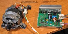 Reverse Engineering of an Induction Motor and Variable Speed Motor controller
