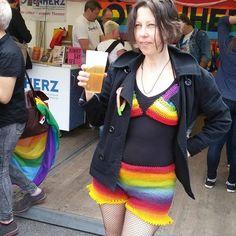 #queermaschen #queer #crochet #knit #pride #csd