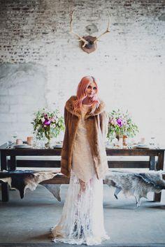 Brooklyn meets Nashville wedding inspiration - photo by Khaki Bedford Photography http://ruffledblog.com/brooklyn-meets-nashville-wedding-inspiration