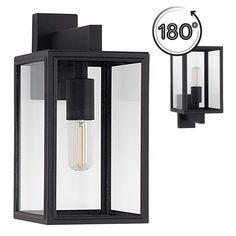 Soho zwart met D/N sensor Exterior Lighting, Outdoor Lighting, Lighting Ideas, Soho, Carriage Lights, Pendant Lighting, Chandelier, Cozy Cottage, Light Fixtures