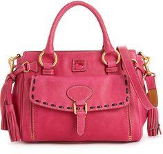 ShopStyle: Dooney & Bourke Handbag, Florentine Vachetta Medium Pocket Satchel