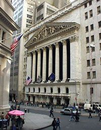 COMPANY LISTINGS OF: Wall Street and the New York Stock Exchange: New York Stock Exchange COMPANY LISTINGS.