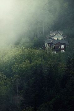 Fog House, Britannia, British Columbia, Canada photo via kirsten