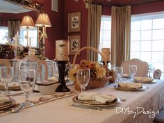 DIY by Design: Thanksgiving Table 2012