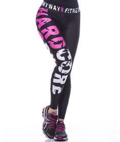 Hardcore workout leggings women fitness clothes