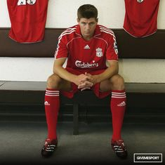 Steven Gerard quote Liverpool Fc, Football Soccer, Gym Men, Sporty, Tops, Quote, Style, Fashion, Quotation