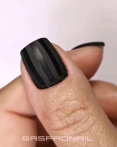 Black Nail Designs, Toe Nail Designs, Nail Polish Designs, Cat Nail Art, Nail Art Diy, Goth Nails, Nagellack Design, Nail Design Video, Manicure Y Pedicure