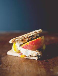 S'meaches, s'mores plus fresh peaches | Town & Country Magazine